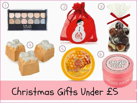 christmas gift ideas under 163 5 163 10 163 20 and 163 50