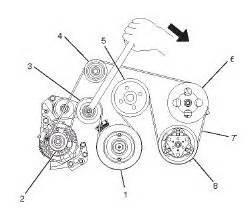 2000 Isuzu Rodeo Belt Diagram Solved Serpentine Belt Diagram For A 3 5 V6 Isuzu Trooper