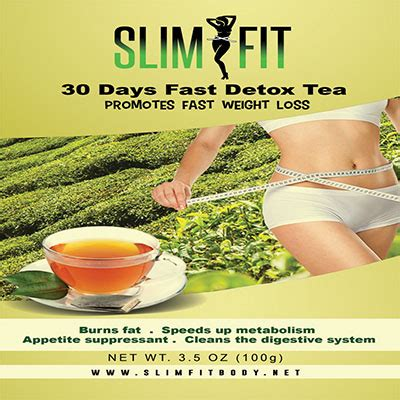 30 Day Detox Diet Fitness Magazine by Slimfit 30days Detox Tea Slim Fit