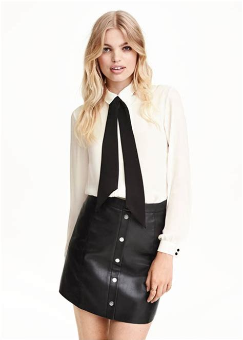 The Look For Less Tibi Bow Detail Blouse by Get The Look The Bow Blouse