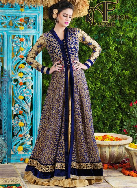 dress design in net latest party wear dresses in india look sensationally