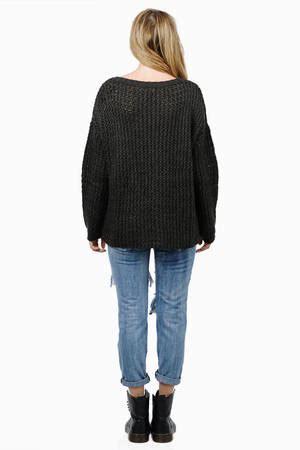 Sweater Trumpet Grey Sm peyton sweater tobi
