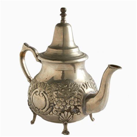 Putting It Together Moroccan by Vintage Moroccan Larkspur Silver Teapot Shop