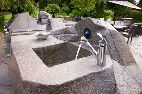 outdoor kitchen kits with sink outdoor kitchen kits home depot kitchen decor design ideas
