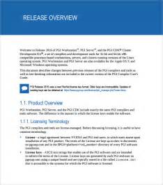 sample release notes 7 documents in pdf