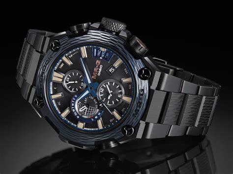 Introducing the Casio G Shock MR G Indigo Hammer Tone Kasumi Tsuchime   SJX Watches