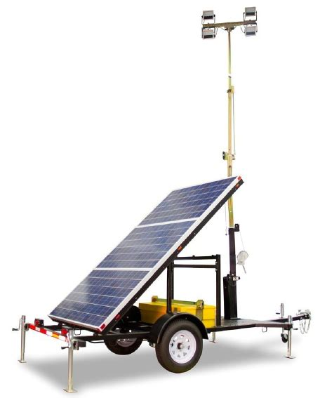 Solar Light Towers Diesel And Solar Powered Light Towers By Atlas Copco
