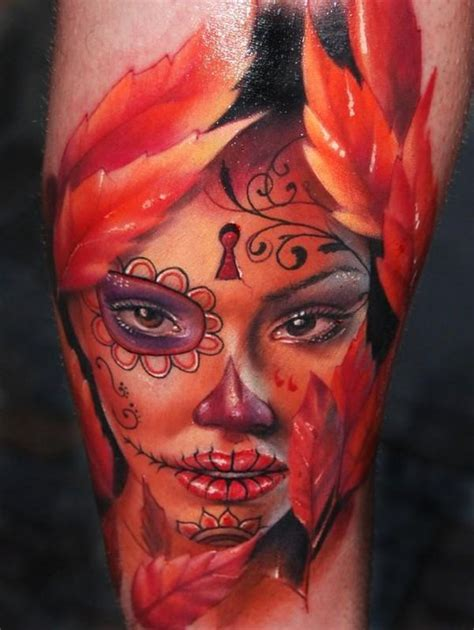 the tattooed lady library day of the dead collection