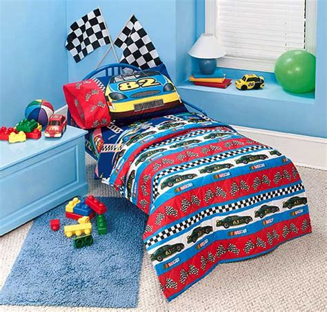 nascar comforter nascar fast track toddler 4 piece comforter set