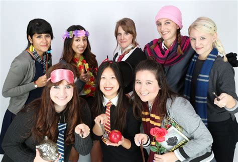 disney princesses  hogwarts students diy disney group