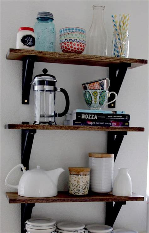kitchen storage shelves ideas 10 unique diy shelves for home storage diy and crafts