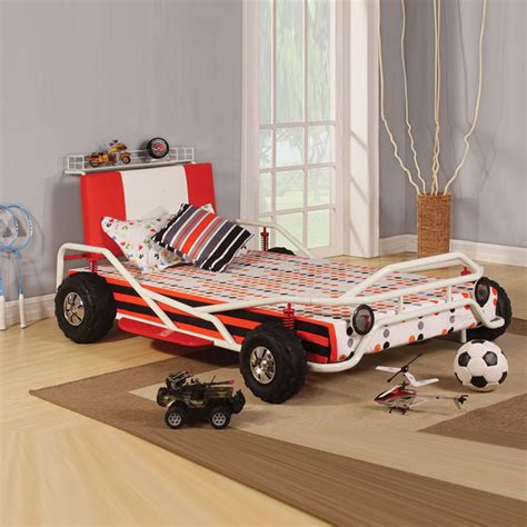 twin car beds for boys youth cool children kids boys children race car twin bed