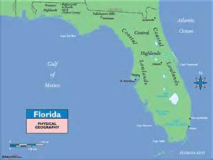 florida landform map map of florida landforms pictures to pin on