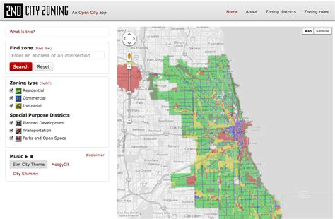 city of chicago zoning map open city provides detailed map view of chicago zoning informed infrastructure