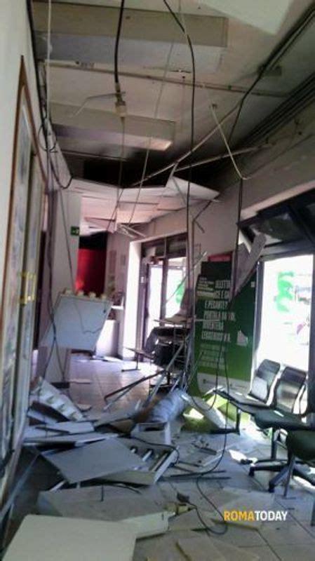 filiali etruria roma esplosione furto etruria via papini 1 2