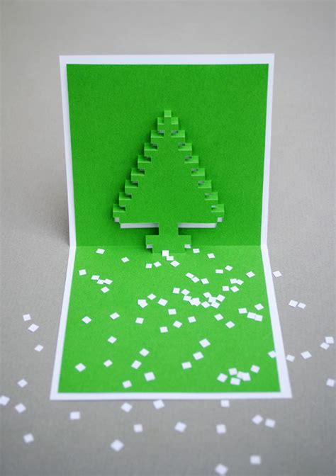 pixelated pop up card template pixel popup cards feel desain