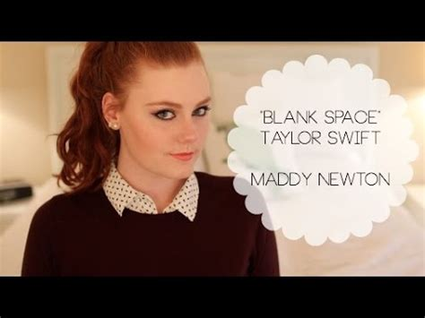 quot blank space quot maddy newton acoustic cover