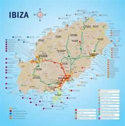 Ibiza Spain Map by Ibiza Resorts Map