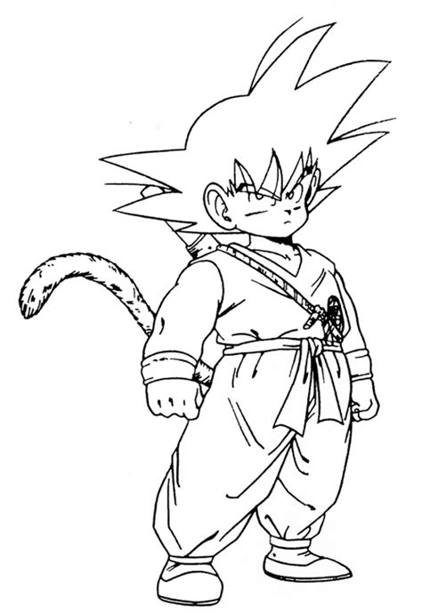 coloring pages goku goku coloring pages coloring pages to print