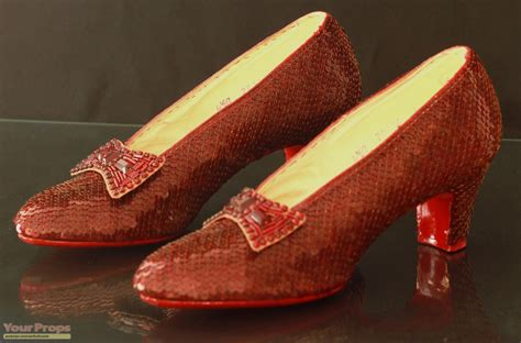 ruby slippers wizard of oz the wizard of oz ruby slippers replica costume
