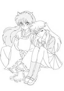 free printable inuyasha coloring pages for - Inuyasha Coloring Pages