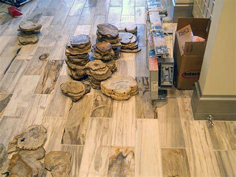 Houzz Small Bathroom Ideas Petrified Wood Tile 6 Quot X18 Quot Park City Ut Contemporary