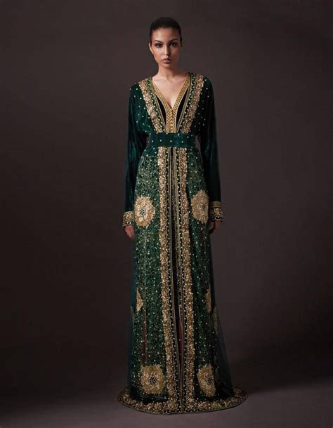 Fashion Kaftan Wanita Combi Gold Green moroccan morocco caftan in the lands of magic caftans morocco and moroccan