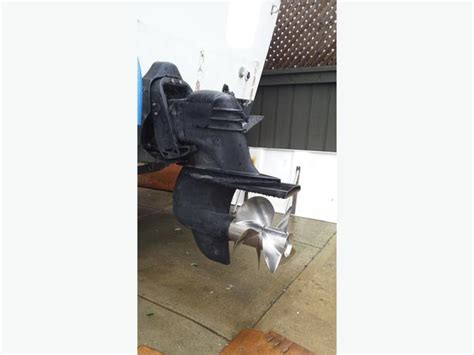 volvo penta xdp outdrive dual ss props excellent condition  north saanich sidney victoria