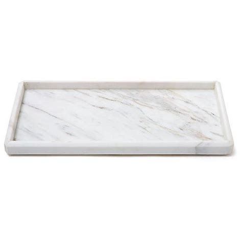 marble bathroom tray luna marble tray white bath trays 79 cad liked on polyvore featuring home bed
