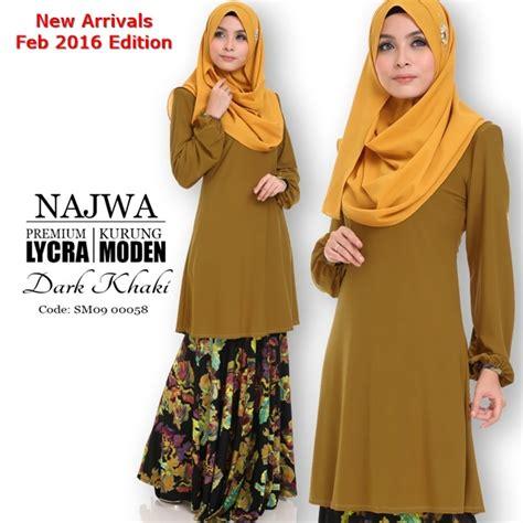 baju kurung moden yang loose baju kurung moden lycra najwa mesra penyusuan all sold
