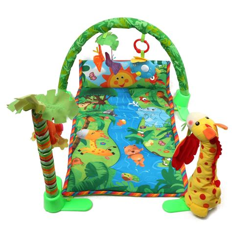 Rainforest Baby Play Mat by Musical Baby Infant Play Mat Rainforest Melodies