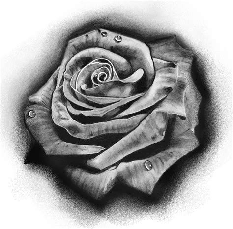 black grey rose tattoo designs best 10 black and grey ideas on