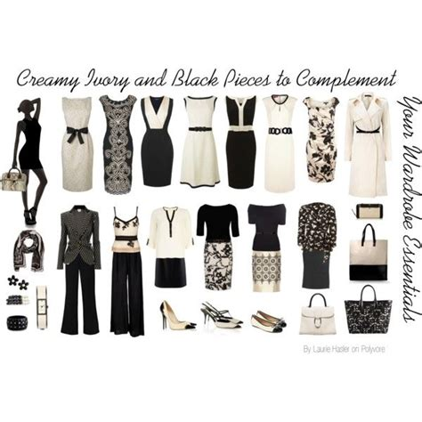 7 Wardrobe Essentials by Quot Ivory And Black Pieces To Complement Your Wardrobe