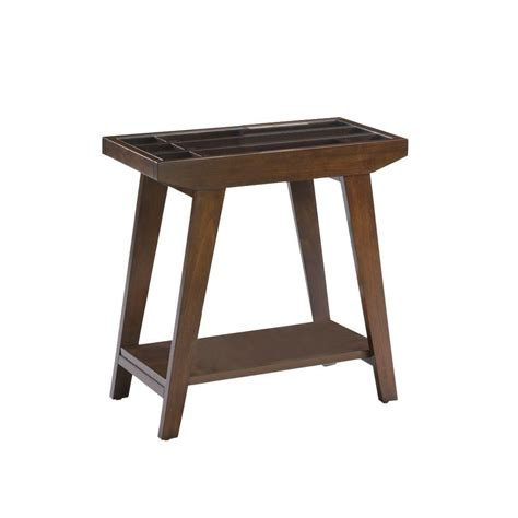 ore international table l ore international brown end table 7228 the home depot
