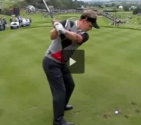 luke donald golf swing pin by powerchalk compare your technique to pros on pga