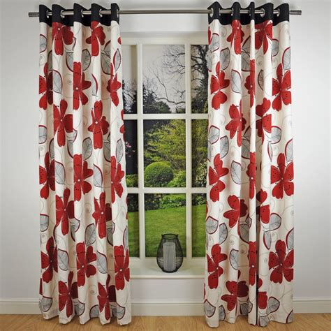 red and black floral curtains pin floral print fabric quilting catalog online on pinterest