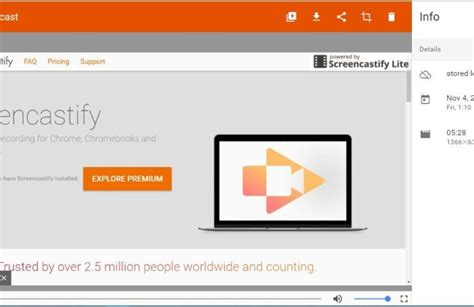 chrome recorder record videos in chrome with the screencastify chrome