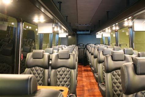 luxury minibus wedding shuttle bus chauffeured limo rental in dc area