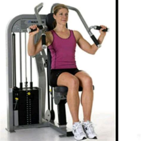 seated leg press machine workout seated shoulder press exercise how to workout trainer