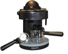 machine reviews krups xp1000 steam espresso machine review