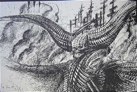 H R Giger Sketches by Hans R 252 Di Giger Drawing For Dead 2