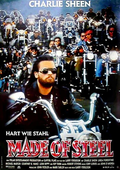Motorrad Film Mit Charlie Sheen by Made Of Steel Film 1992 Filmstarts De