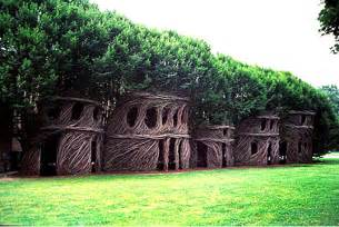 living houses patrick dougherty s mind blowing nest houses made of living trees inhabitat green design