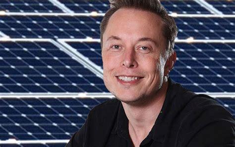 elon musk energy elon musk buys solar company to build large scale panel