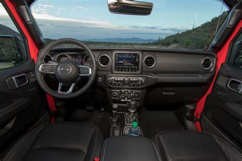 2018 jeep wrangler jl interior 2018 jeep wrangler jl first drive