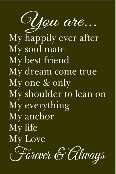 Letter You Are My best 25 happily after quotes ideas on husband anniversary quotes and