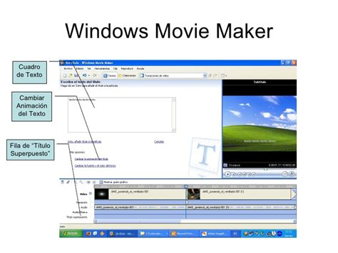 tutorial windows movie maker xp español windows movie maker