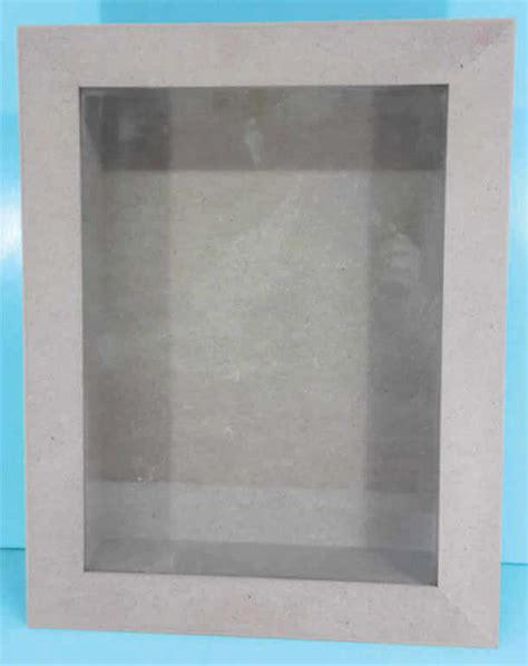 box frame glass front 280 x 380 x 80mm creative talents