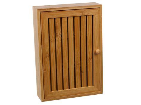 wall mounted key cabinet wooden bamboo wall mounted key box brackets cupboard hooks