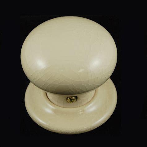porcelain door knob crackle glaze single the